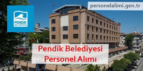 Pendik Belediyesi Personel Alımı