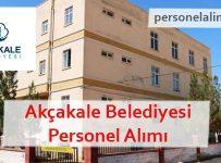 Akçakale Belediyesi Personel Alımı
