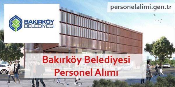 Bakırköy Belediyesi Personel Alımı