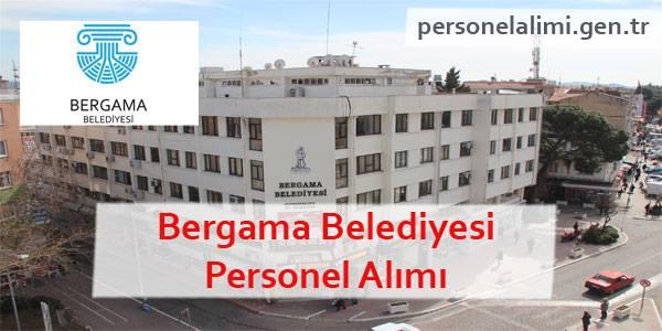 Bergama Belediyesi Personel Alımı