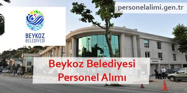 Beykoz Belediyesi Personel Alımı