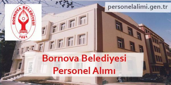 Bornova Belediyesi Personel Alımı
