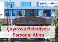 Çayırova Belediyesi Personel Alımı