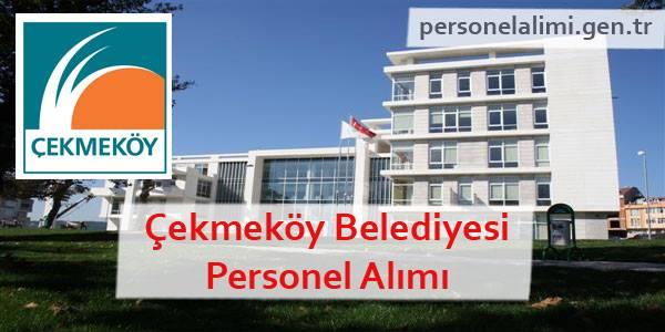 Çekmeköy Belediyesi Personel Alımı