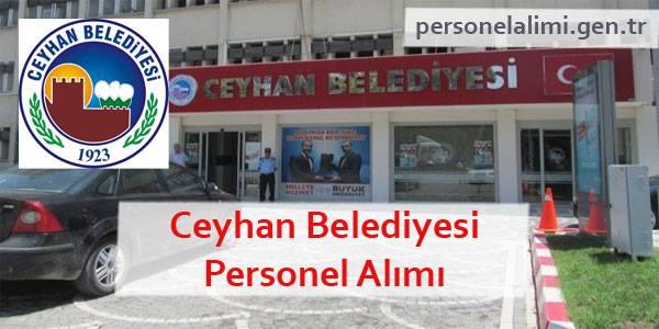 Ceyhan Belediyesi Personel Alımı