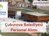 Çukurova Belediyesi Personel Alımı