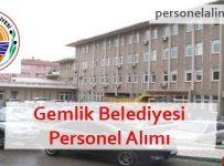 Gemlik Belediyesi Personel Alımı