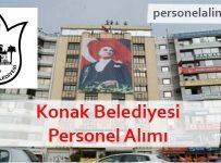 Konak Belediyesi Personel Alımı
