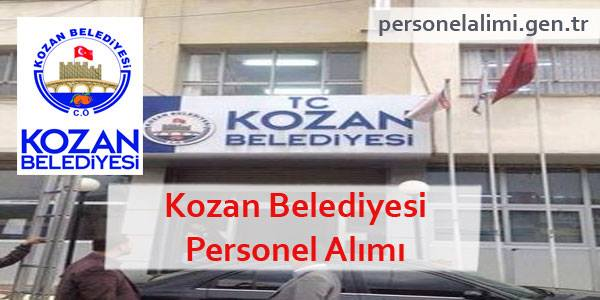 Kozan Belediyesi Personel Alımı