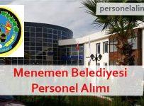 Menemen Belediyesi Personel Alımı