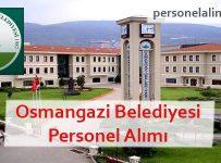 Osmangazi Belediyesi Personel Alımı