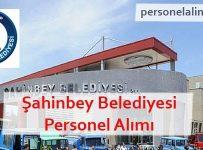 Şahinbey Belediyesi Personel Alımı