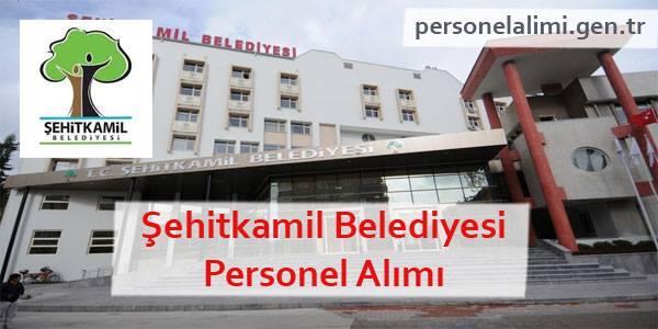Şehitkamil Belediyesi Personel Alımı