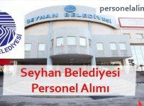 Seyhan Belediyesi Personel Alımı