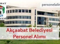 Akçaabat Belediyesi Personel Alımı