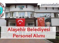 Alaşehir Belediyesi Personel Alımı