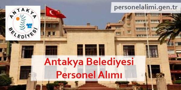 Antakya Belediyesi Personel Alımı
