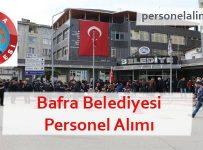 Bafra Belediyesi Personel Alımı