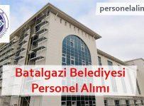 Battalgazi Belediyesi Personel Alımı