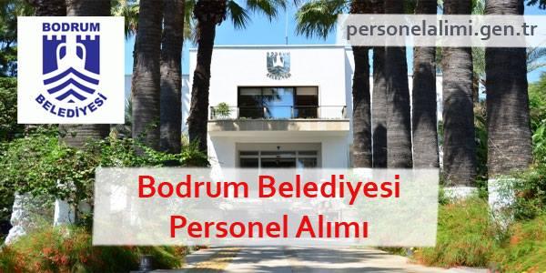 Bodrum Belediyesi Personel Alımı