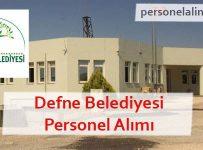 Defne Belediyesi Personel Alımı