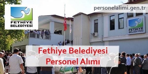 Fethiye Belediyesi Personel Alımı