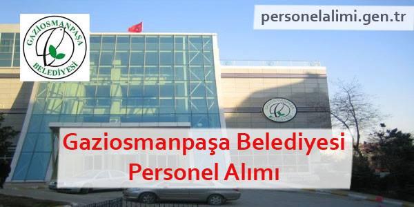 Gaziosmanpaşa Belediyesi Personel Alımı