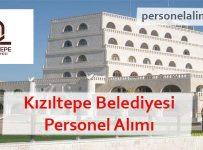 Kızıltepe Belediyesi Personel Alımı