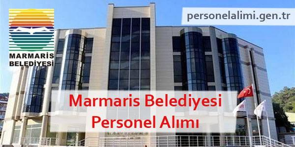Marmaris Belediyesi Personel Alımı