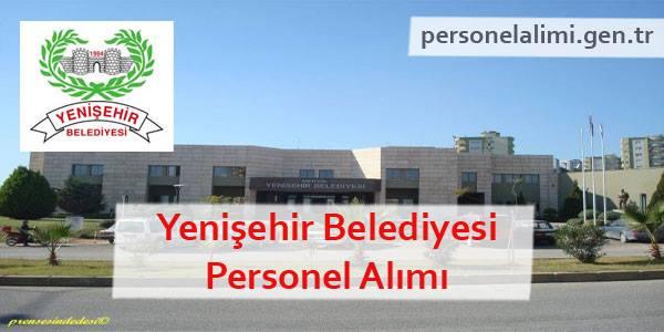 Mersin Yenişehir Belediyesi Personel Alımı