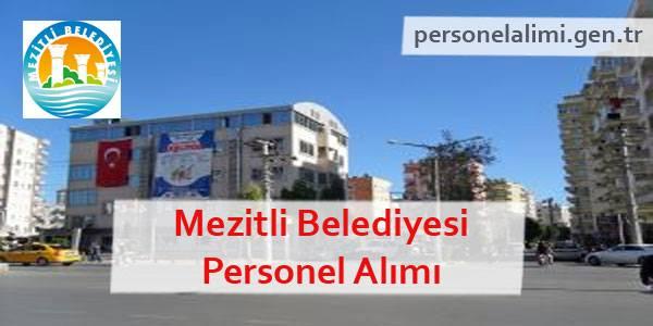 Mezitli Belediyesi Personel Alımı