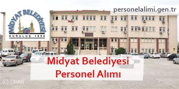 Midyat Belediyesi Personel Alımı
