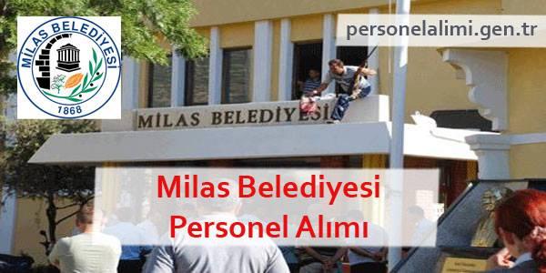 Milas Belediyesi Personel Alımı