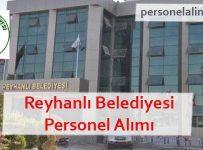 Reyhanlı Belediyesi Personel Alımı