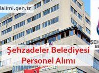 Şehzadeler Belediyesi Personel Alımı