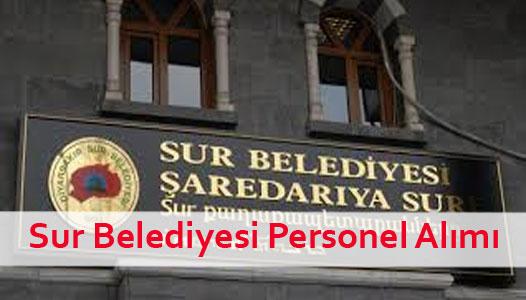 Sur Belediyesi Personel Alımı