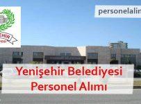 Yenişehir Belediyesi Personel Alımı