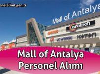 Mall of Antalya Personel Alımı