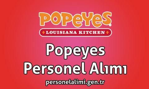 Popeyes Personel Alımı