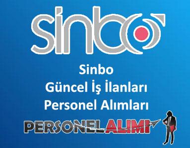 Sinbo Personel Alımı ve İş İlanları