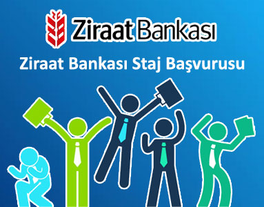 Ziraat Bankası Staj Başvurusu