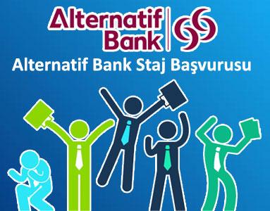 Alternatif Bank Staj Başvurusu