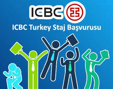 ICBC Turkey Staj Başvurusu