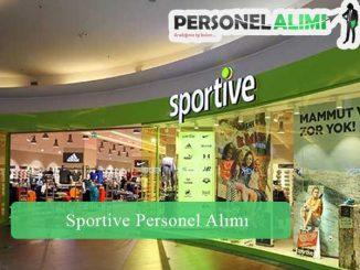 Sportive Personel Alımı ve İş İlanları