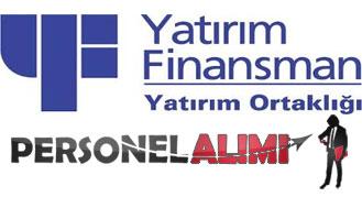 yatırım finansman personel alımı