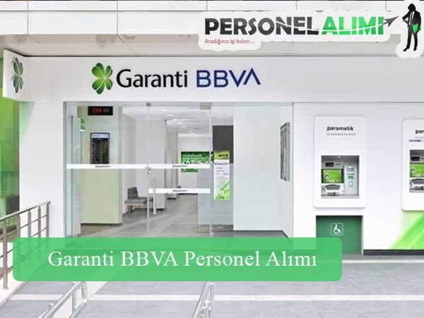 Garanti BBVA Personel Alımı ve İş İlanları