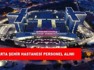 Isparta Şehir Hastanesi Personel Alımı ve İş İlanları
