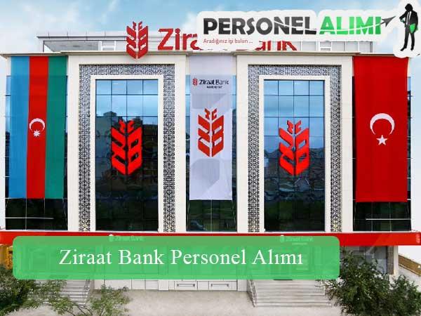 Ziraat Bankası Personel Alımı ve İş İlanları