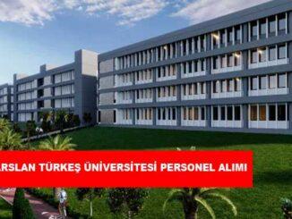 Alparslan Türkeş Bilim ve Teknoloji Üniversitesi Personel Alımı ve İş İlanları