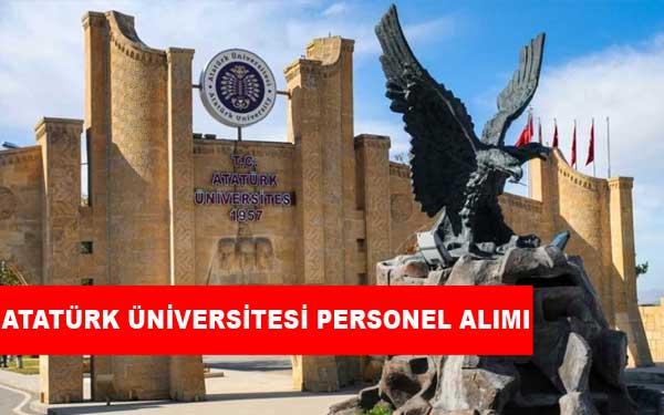 Atatürk Üniversitesi Üniversitesi Personel Alımı ve İş İlanları